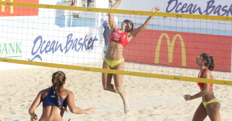 Beach Volley: Έχασαν και αποκλείστηκαν οι αδελφές Γιασουμή