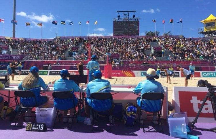 6 - 4 Beach Volley Men