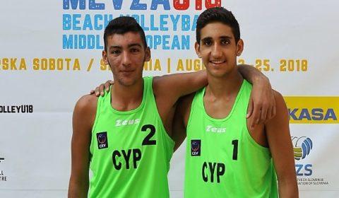 Beach Volley: Σιαπάνης/ Σαββίδης στο Πανευρωπαϊκό U20