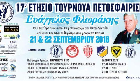Πρεμιέρα στο 17ο τουρνουά «Ευάγγελος Φλωράκης»