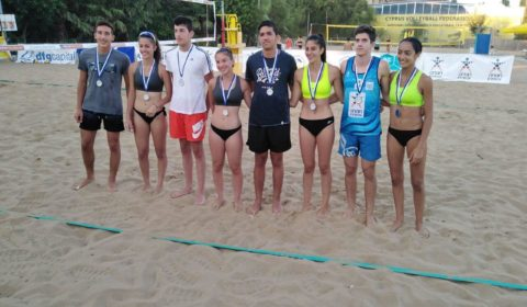 Beach Volley: Τo Σαββατοκύριακο το 2ο Παγκύπριο Πρωτάθλημα Εφήβων/ Νεανίδων