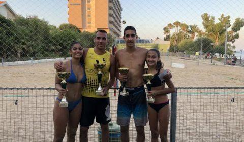 Ζηκάκης/ Κ. Γιασουμή κέρδισαν το πρώτο μεικτό τουρνουά Beach Volley