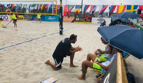 Σε σεμινάριο στην Τουρκία ο εκ των Ομοσπονδιακών Beach Volley Α. Σαββίδης