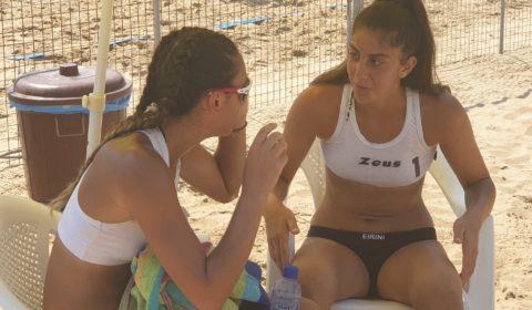 MEVZA U18 Γυναικών: Δυο νίκες και πρόκριση για Βαλέρια/Ειρήνη