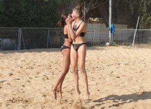 Εικόνες από το Παγκύπριο Πρωτάθλημα Beach Volley