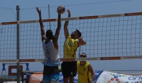 Ώρα τελικών στο Παγκύπριο πρωτάθλημα Beach Volley Ανδρών