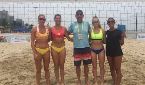 «Παγκόσμιο» το κυπριακό Beach Volley - Στο νούμερο 89 της FIVB Mαριότα/ Ντάρια