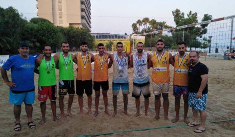 Πρωταθλητές Ανδρών στο Beach Volley οι Λιοτατής/ Χρυσοστόμου