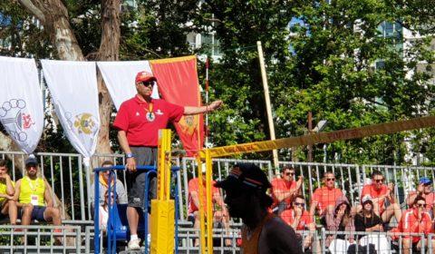 Παράκτιοι Μεσογειακοί - Ο Σέργιος Σεργίου διαιτητής στον Τελικό Ανδρών