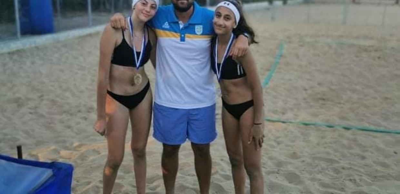 Απόλυτα πετυχημένο το τουρνουά Beach Volley Νεανίδων – Νικήτριες Μ.Ο. Σιαπάνη – Α. Ιωάννου