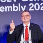 O Aleksandar Boričić επανεκλέγεται Πρόεδρος της CEV