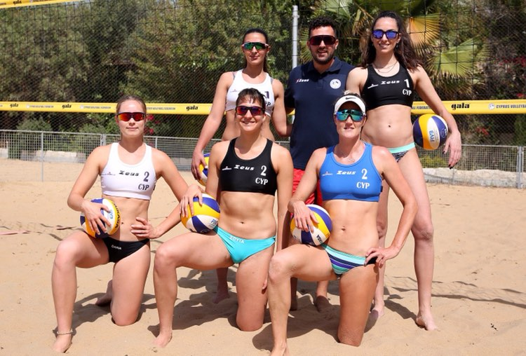 Προολυμπιακό Beach Volley: Πανέτοιμες για τη γαλλική…  πρόκληση Μαριώτα / Μανωλίνα & Ντάρια / Ζώγια